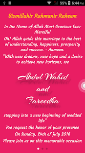 Abdul Weds Fareedha screenshot
