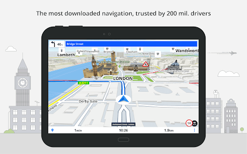 Most Reliable GPS App : Sygic 9