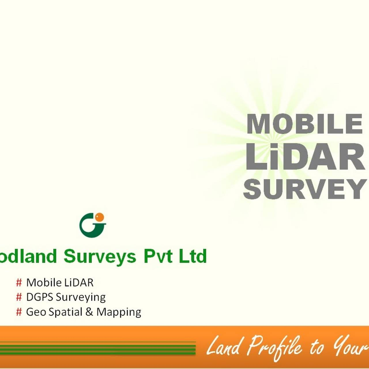 Goodland Surveys Pvt Ltd - Mobile LiDAR, Drone, DGPS, Total