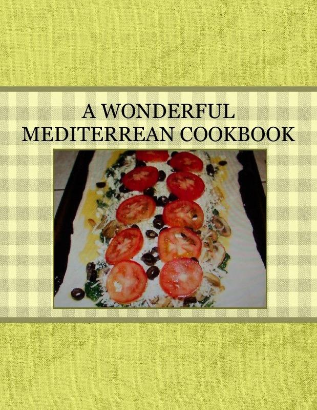 A WONDERFUL MEDITERREAN COOKBOOK