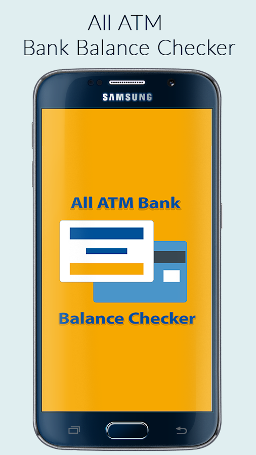 Screenshots of All ATM Balance Checker for Android