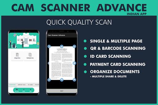 Cam Scanner Advance screenshot 1