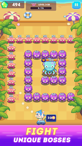 Rabbit Island - Brick Crusher Blast android2mod screenshots 3
