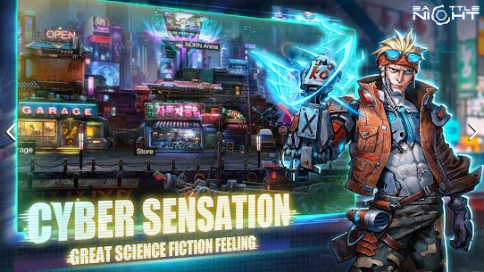 Battle Night: Cyber Squad MOD (One Hit/God Mode) 2