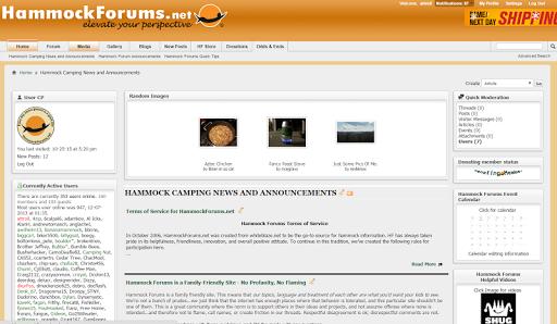 Hammock Forums
