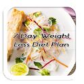 7 Day Weight Loss Diet Plan icon