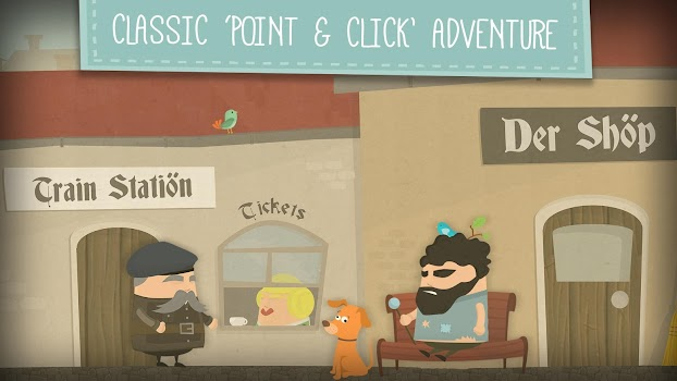 Enigma: Super Spy - Point and Click Adventure Game
