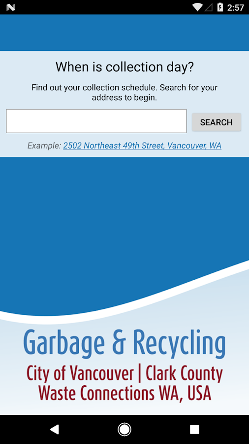 RecycleRight Vancouver ClarkCo- screenshot