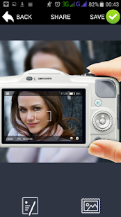 PIP camera photo frame effect- screenshot thumbnail