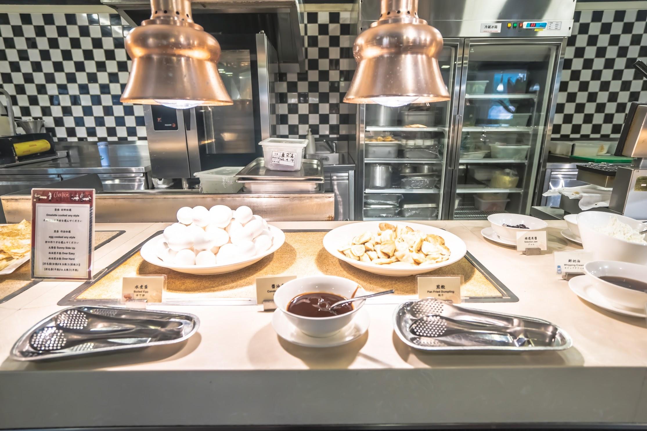 シーザーパーク台北(台北凱撒大飯店) 朝食2