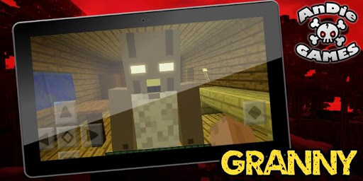Map Granny Horror Mansion for MCPE 1.0 screenshots 1