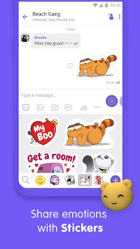 Viber Messenger - Messages, Group Chats & Calls screenshot 4