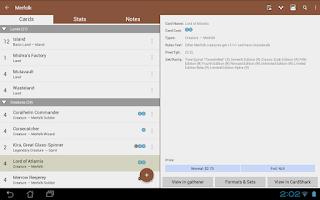 Screenshot of MTG Tracker Free: Life Counter