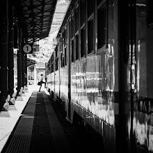 Photo: Bolzano #14 - catch the train...  #street #streetphotography #shootthestreet #blackandwhite #blackandwhitephotography #bw #monochrome #bolzano