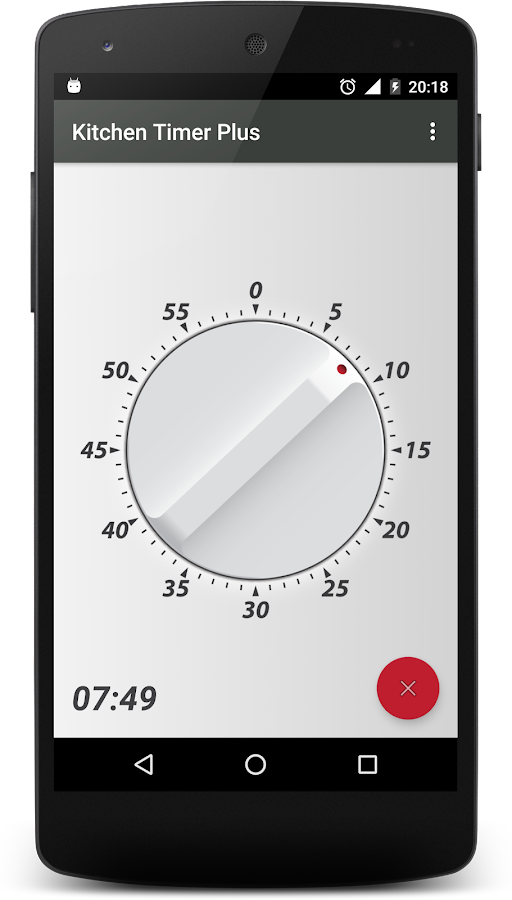 Kitchen Timer Plus- screenshot
