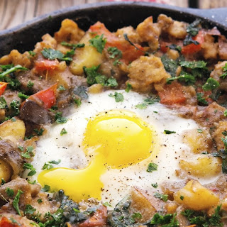 Farmers Market Hash with Eggs