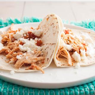 5 Ingredient Chicken Tacos {my favorite taco recipe!}.