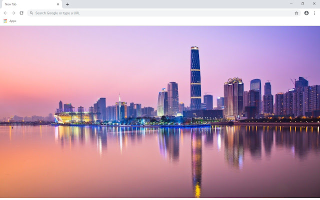 Guangzhou New Tab & Wallpapers Collection