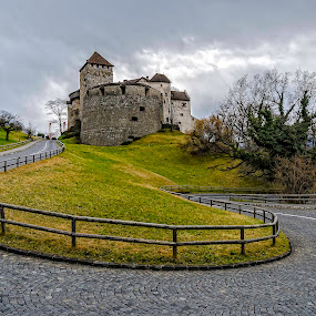 Liechtenstein- Temple of The King by Mihail Marzyanov - City,  Street & Park  Historic Districts