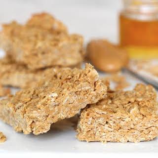 3-Ingredient Peanut Butter Honey Oat Bars.