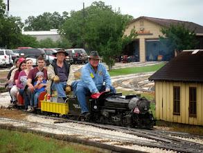 Photo: 0945   Pete Greene, now with passengers and Doug Blodgett    HALS Public Run Day 2013-0921 RPW