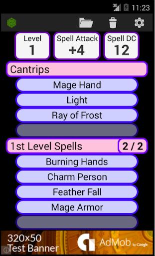 Fifth Edition Character Sheet  screenshots 4