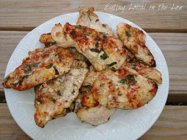 Grilled Lemon Sage Chicken Recipe