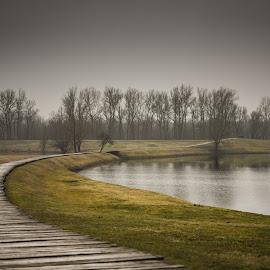 Jasenovac. by Darijan Mihajlovic - Landscapes Waterscapes