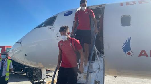 El Almería regresa este sábado y entrena