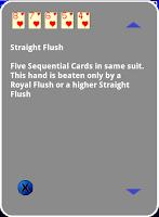 Screenshot of Poker Hands