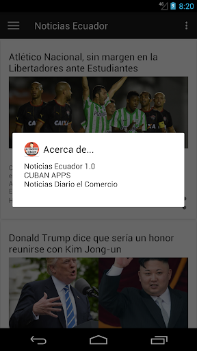 Periu00f3dico El Comercio Ecuador 3.0 screenshots 4