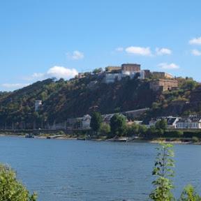 ドイツ・コブレンツにあるヨーロッパで2番目に大きな要塞「エーレンブライトシュタイン要塞」