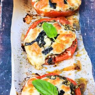 Roasted Tomatoes With Mozzarella Recipes