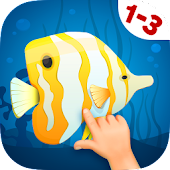 Animated Fish Puzzles for Kids