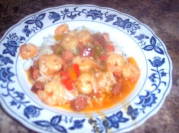 New Orleans Shrimp Etoufee