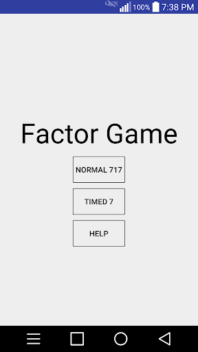 Factoring Game 2.0 screenshots 1