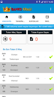 Banko Kralı - Betting Tips - Daily Matches - náhled