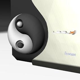 Air Vent Yin Yang Medallion - iHack 24