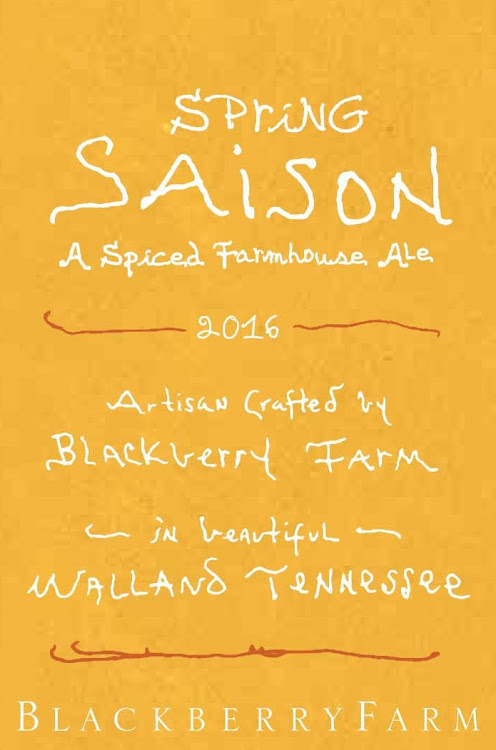 Logo of Blackberry Farm Spring Saison