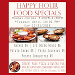 Happy Hour Food Monday- Friday