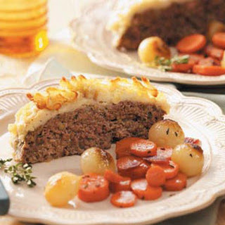 Meat Loaf with Potato Crust