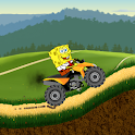 Sponge Car Hill Racing icon