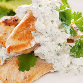 Chicken Breasts with Blue Cheese Sauce
