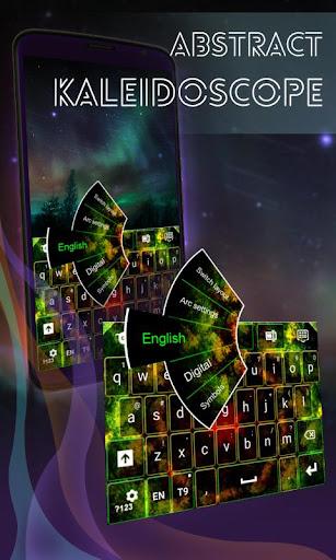 抽象万華鏡キーボード