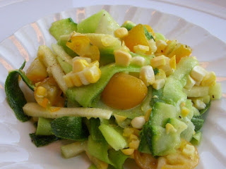 Yellow Polka Dot Zucchini Side Recipe