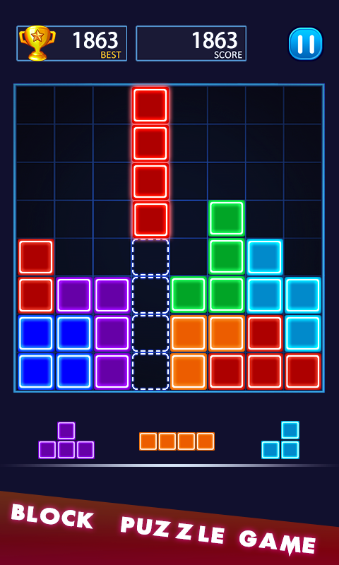 Coloring Block Puzzle- screenshot