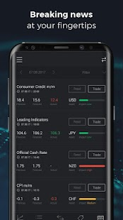 CFDs and Forex trading- screenshot thumbnail