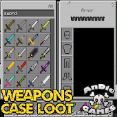 Weapons Case Loot Mod for MCPE Mod