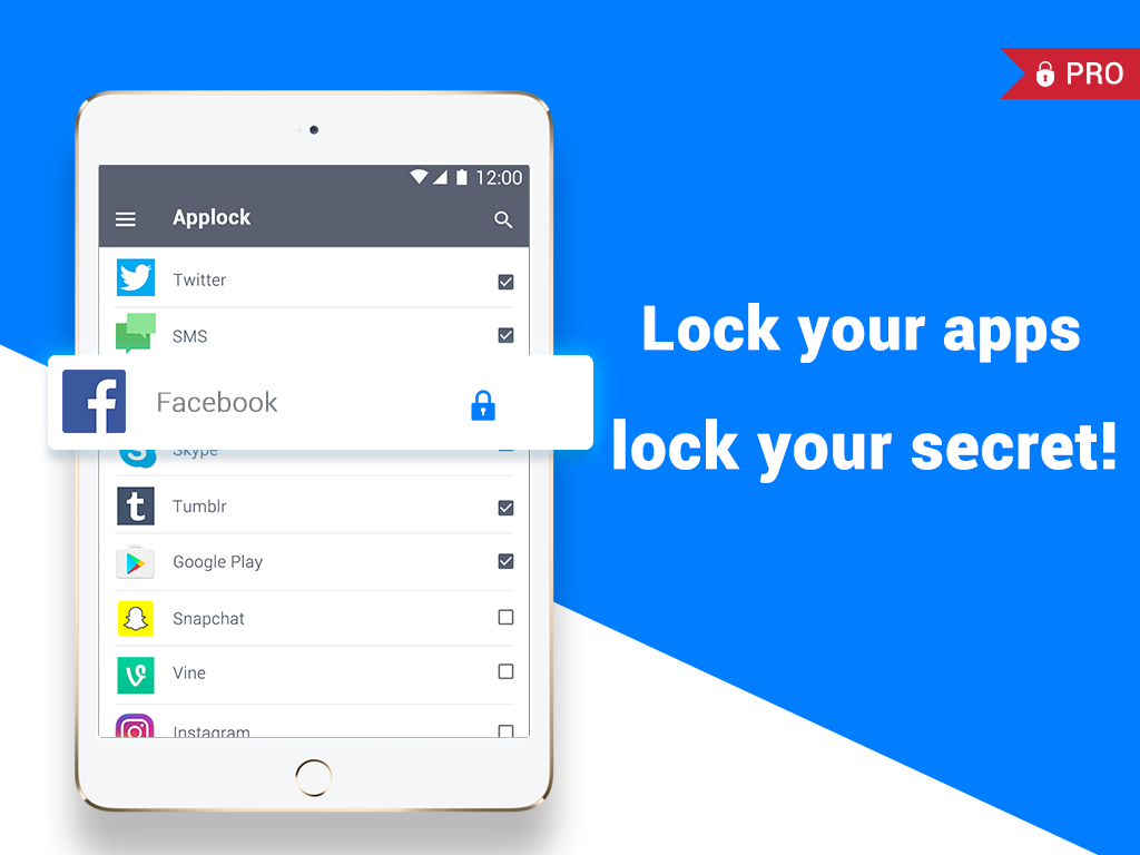 AppLock Pro- screenshot