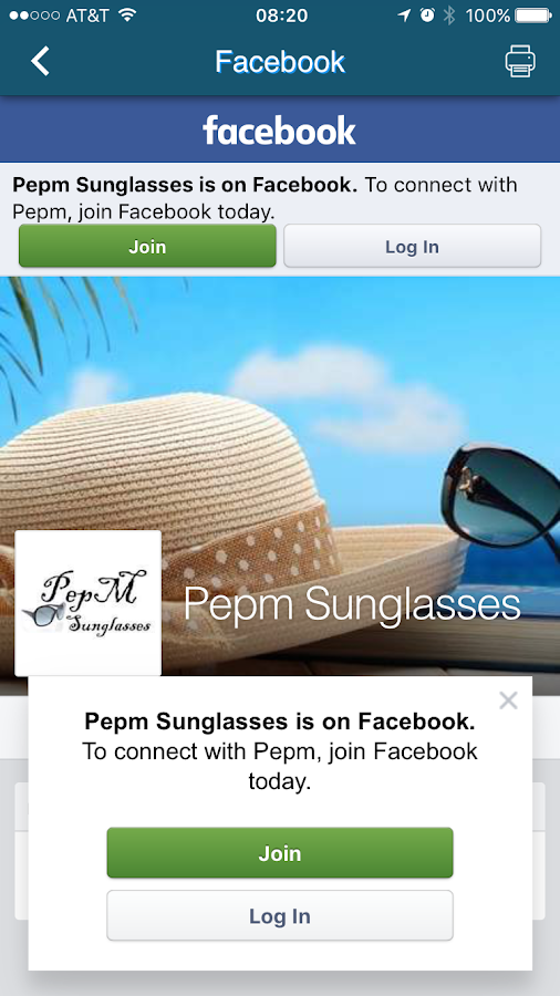 PepM Sunglasses- screenshot